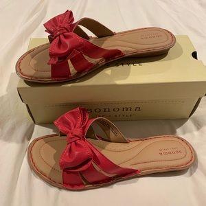 Sonoma pink sandals